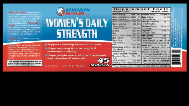 Daily Multi-Vitamins & Minerals : Women's Daily Strength Multi ...
