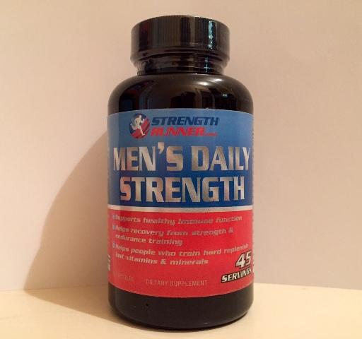 Daily Multi-Vitamins & Minerals : Men's Daily Strength Multi ...