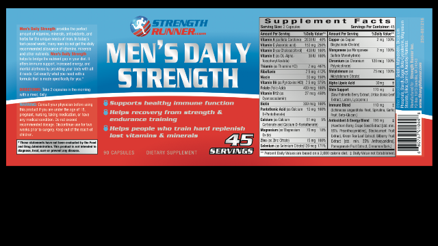 helps recovery from strength endurance training helps people who train hard replenish lost vitamins and minerals etc